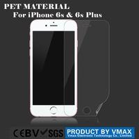 Full Screen Cover !! Anti-Fingerprint PET screen protector for iPhone 6/6s
