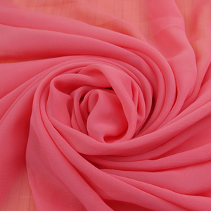 Hot Selling Wholesale Cheap Price Colorful Plain Dyed Natural Pure Silk Georgette Fabric