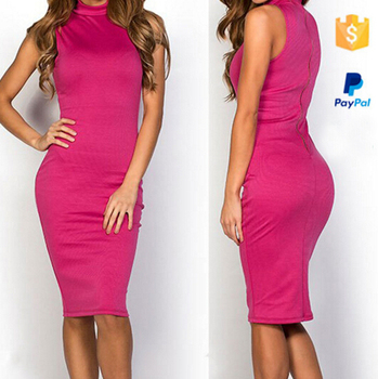 Clothing Women Plus Sizes Knee Length Celebrity Sleeveless Bandage Bodycon  Dress - Buy Plus Size Women Clothing,Cheap Bandage Dress,Modest Knee Length  ...