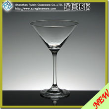 Thick Stem High Quality Crystal Martini Glass