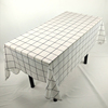 White Household hotel biodegradable plastic tablecloths disposable table cover