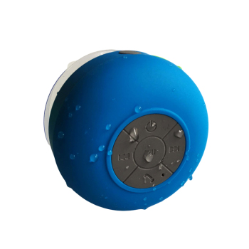 Outdoor Waterproof mini wireless blue tooth speaker design for the bathroom