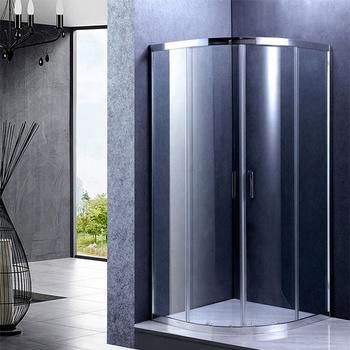 Sliding Door Corner Plastic Shower Enclosure - Buy Plastic Shower ...