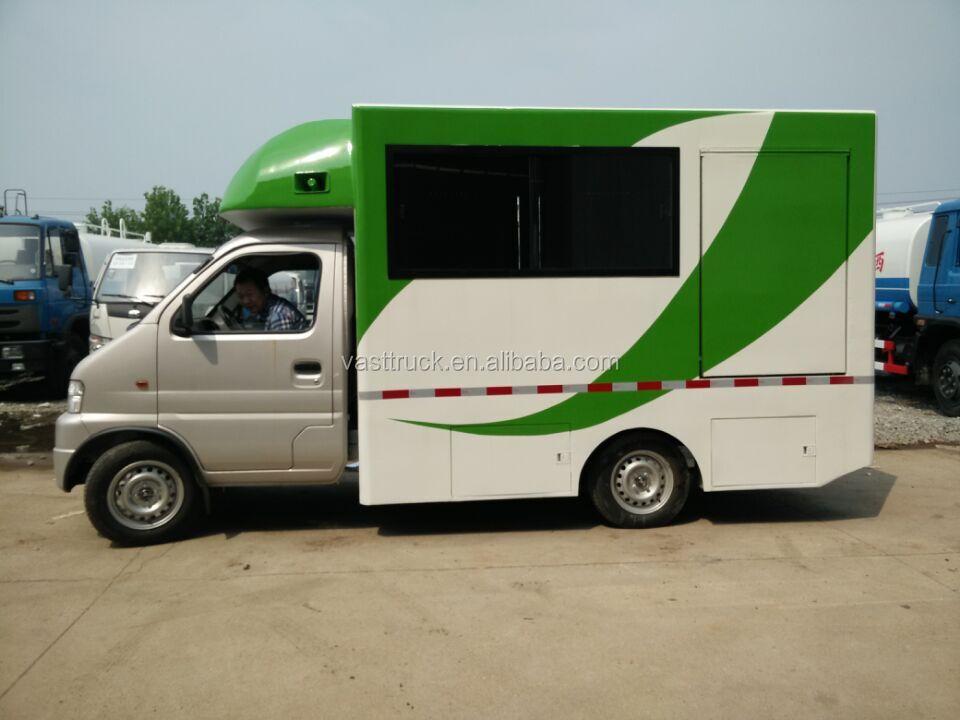 Electric Food Truck Mobile Food Kiosk Food Car Vending