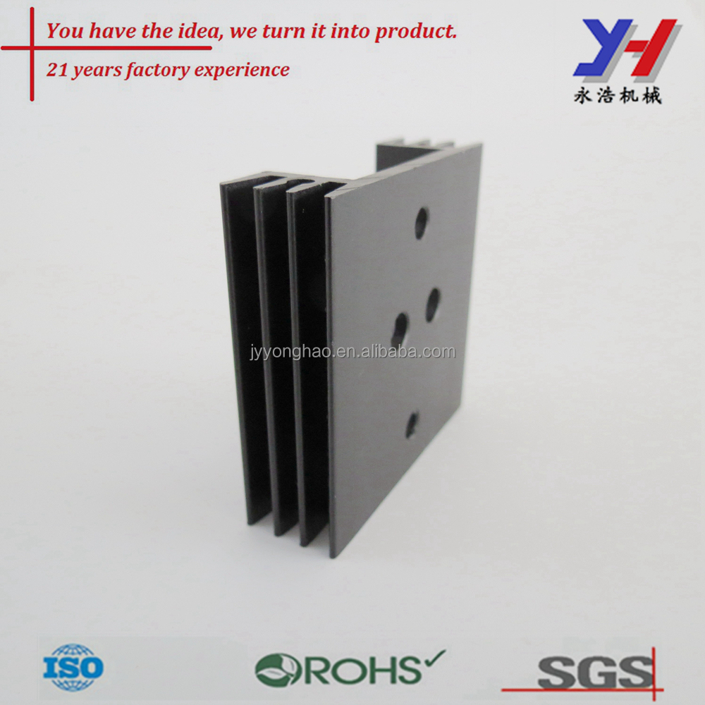 OEM ODM Industrial Aluminum Extrusion Heat Sink Profile Custom Extrusions