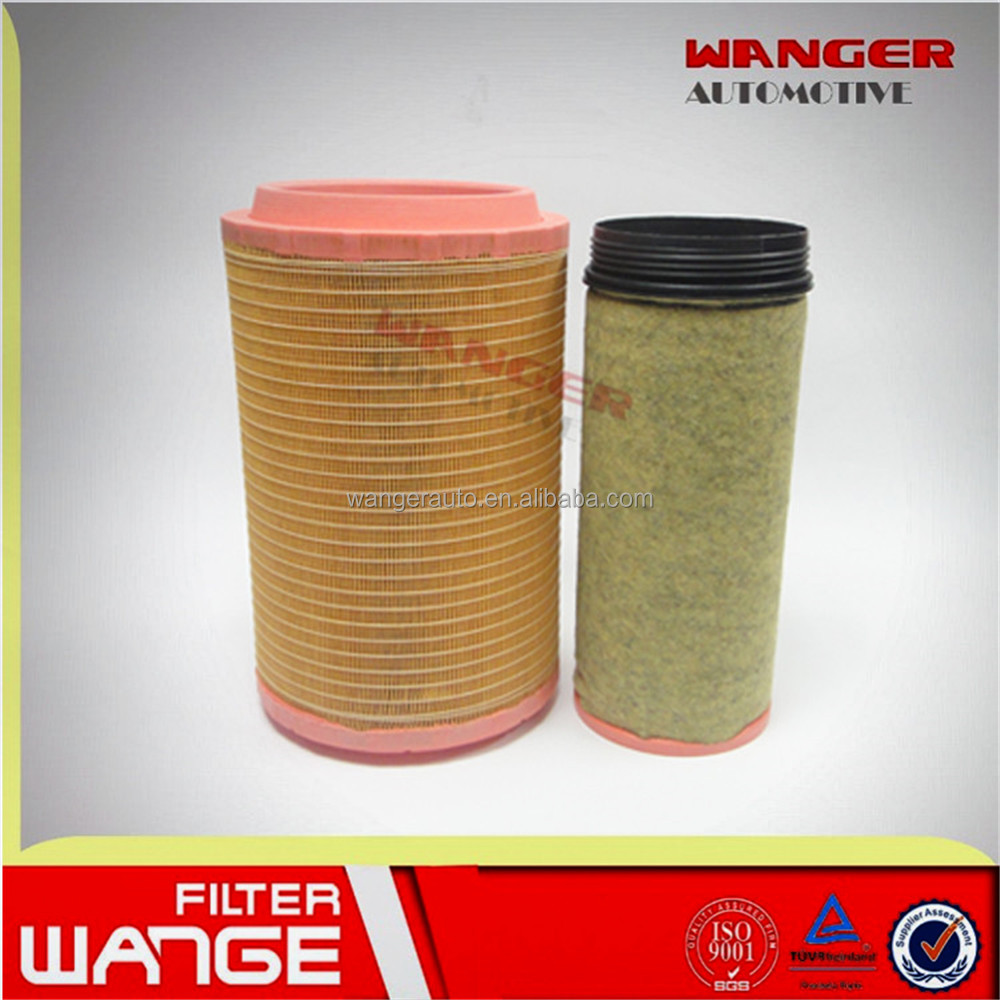 Truck air filter AA90134 AF26569 AF26570 for generator air filter