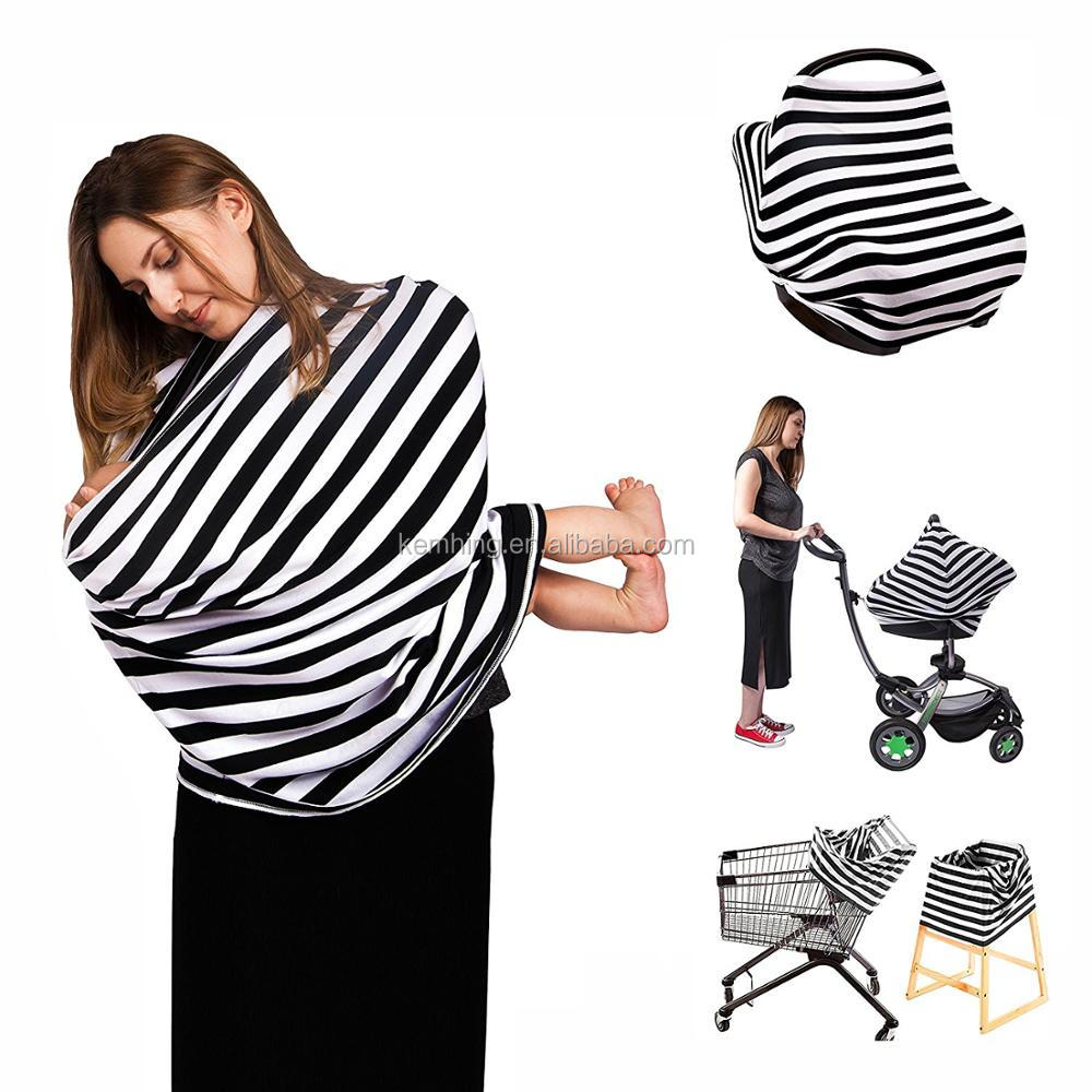 car seat canopy cover Stroller baby shopping cart high chair cover for Nursing Breastfeeding Cover Scarf