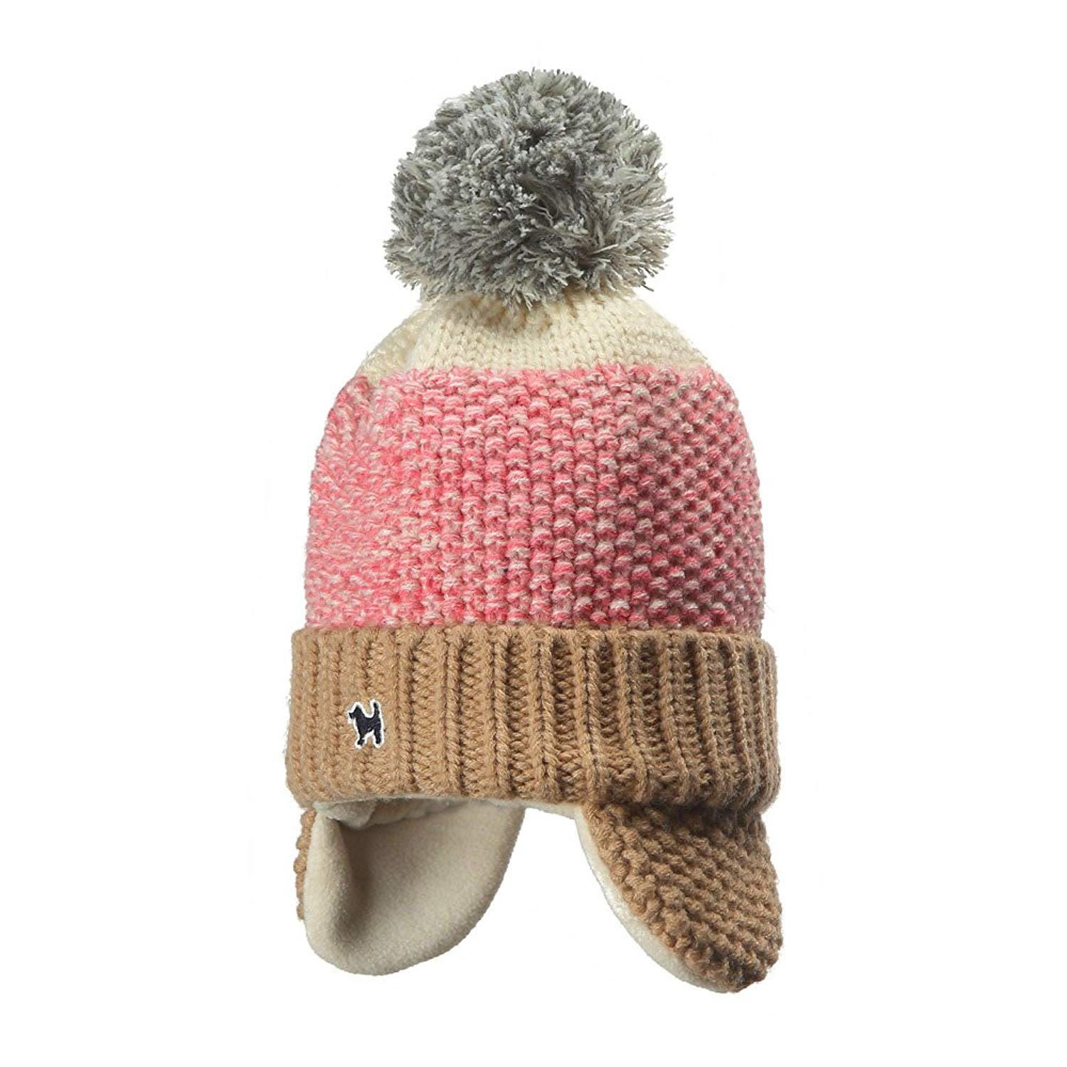 f5a59dd1755 Get Quotations · YJH Kids Cuff Knit Beanie Baby Toddler Children Warm Pom Winter  Hat with Earflap