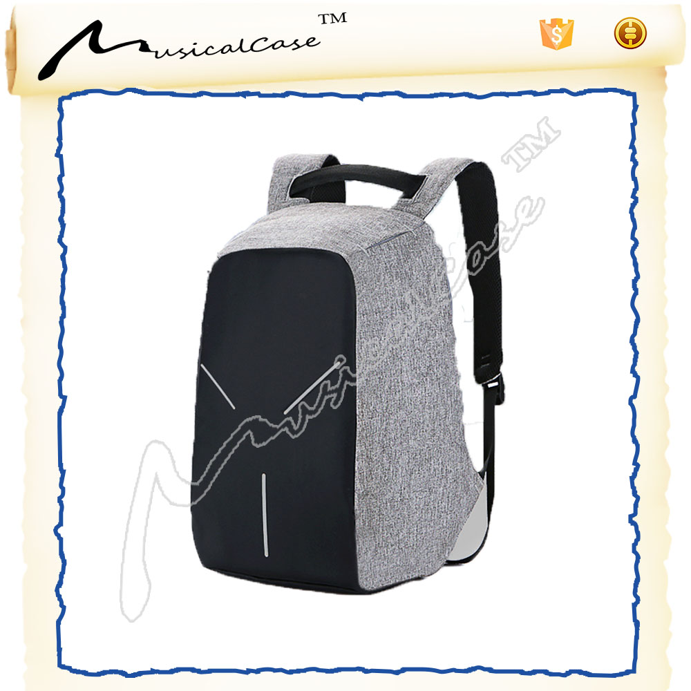 2017 Wholesale mini high school backpack ,High quality against theft backpack with charger usb