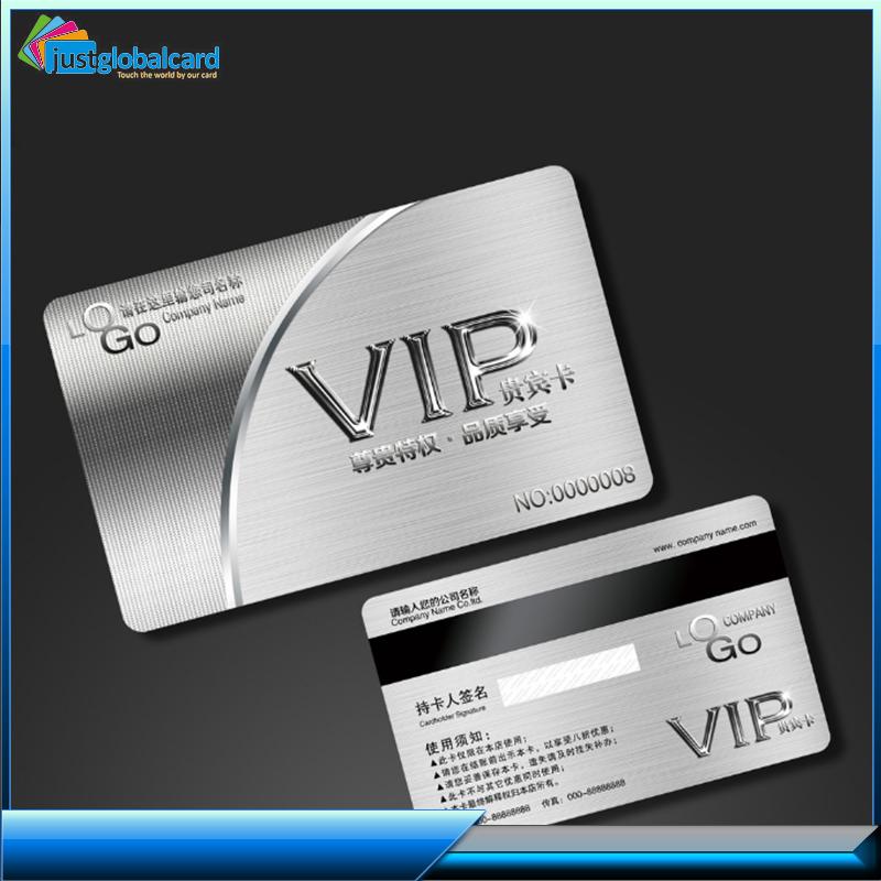 Customized Free Design Plastic Smart Membership / Vip Cards For ...