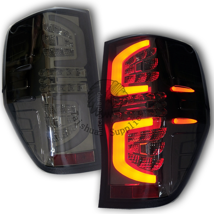 Pickup Truck 4X4 Accessories Car Rear Led Lamp Smoke Black <strong>Tail</strong> <strong>light</strong> For Ranger PX1 PX2 Auto Accessories