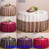Polyester rectangle/square/ round table cloth