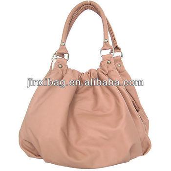 a20b7e7202ab China Latest Design Wrinkled Ladies Fashion Bags - Buy Ladies ...