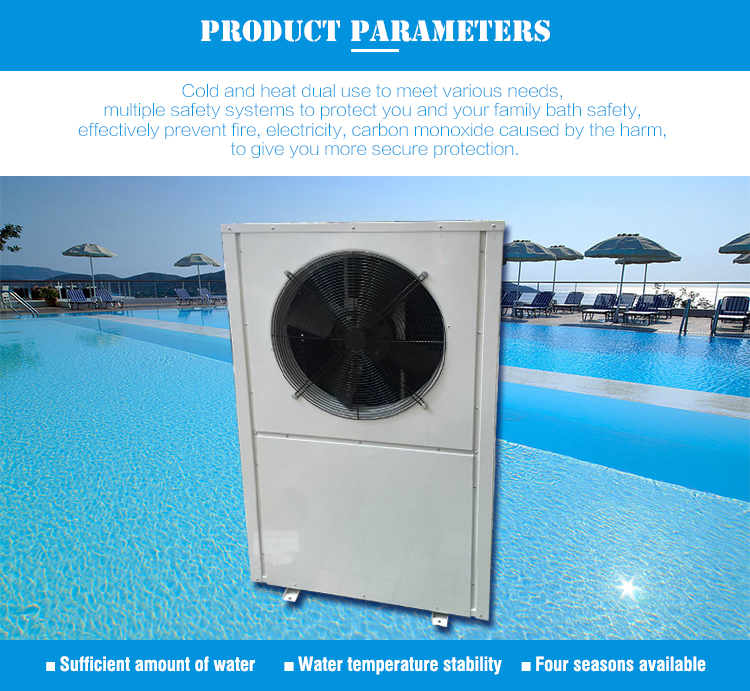 Guangzhou Commerical Swimming Pool Sauna Indoor Heat Pump