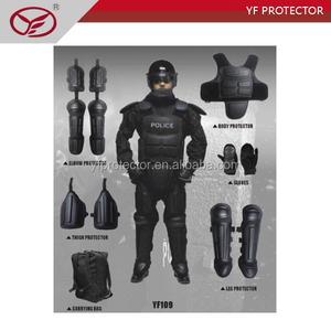 Self defense Anti Riot gear Riot control suit with helmet