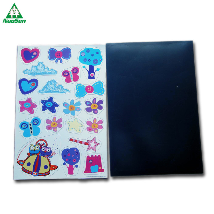 Beautiful Design Magnetic Sticker Kit Refrigerator kids Learning Puzzle Educational Toy Kid Gift