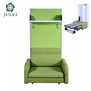 Miraculous Modern Space Saving Transformable With Sofa And Bookshelf Hidden Murphy Wall Bed Jl Wd07 Buy Space Saving Transformable With Sofa And Bookshelf Customarchery Wood Chair Design Ideas Customarcherynet