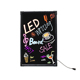 2016 New Invention RGB LED Advertising Board/illuminated sign board/led writing board