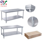 Hot Sale Catering Kitchen Equipment Stainless Steel Work Table For Restaurant