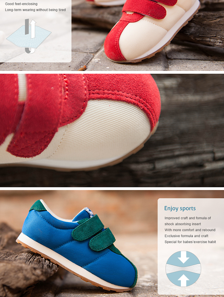 2017littlebluelamb UI-A02101_PK kids sport shoe 2-6 years baby shoe sneaker school shoes