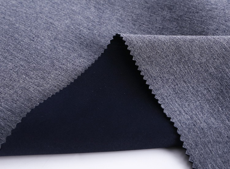 2017 New fashion fabric for TC spandex space air layer knitted sandwich scuba fabric