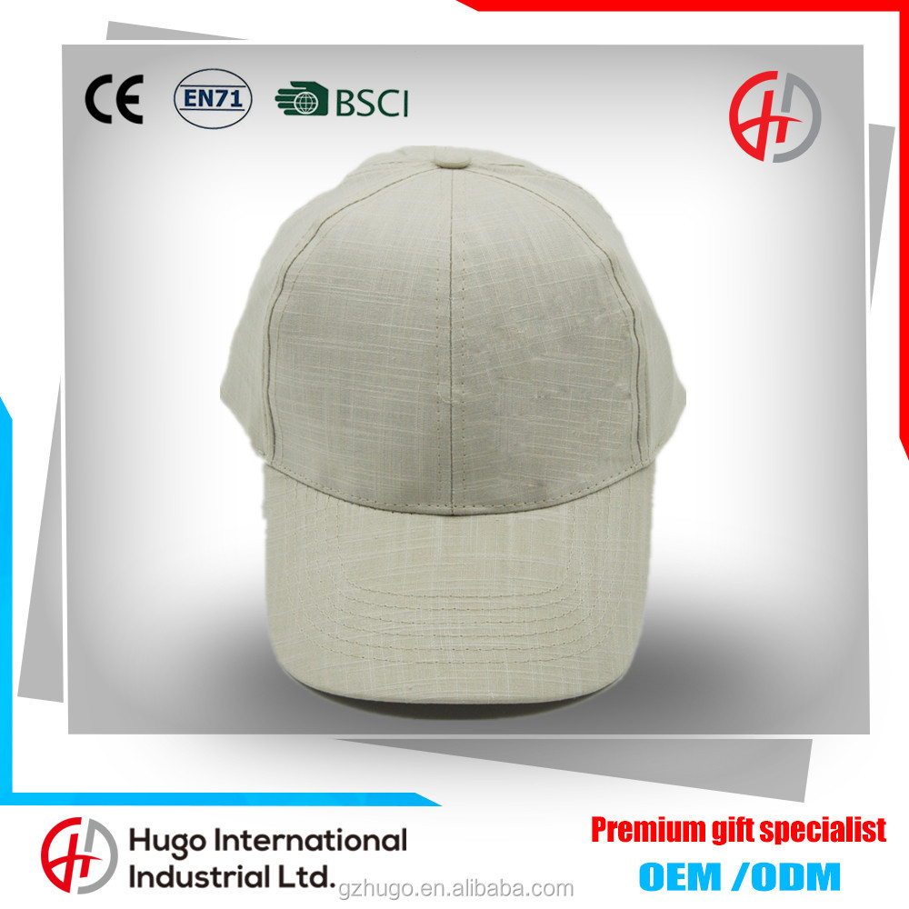 New Arrival High Quality Curve Custom Su generis 6-panel Baseball Linen Cap With Closure