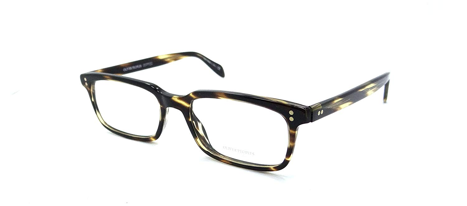 1e53c73987 Get Quotations · Oliver Peoples Rx Eyeglasses Frames Denison 5102 1003  53x17 Cocobolo Italy
