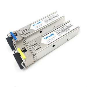 Network SFP Module,1.25G BIDI SM 40KM SFP Transceiver, Compatible with Cisco/Huawei/Hp/Juniper Switch LC connector