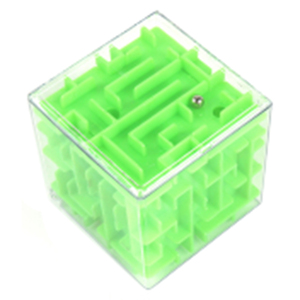 3D Game Box Beads Children Play Maze Magic Puzzle Cube for Kids