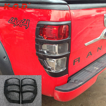 High Identification Car Rear Light Cover Cool Abs Plastic Exterior Accessories For Ford Ranger