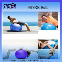 various size of ecofriendly PVC antiburst fit yoga ball