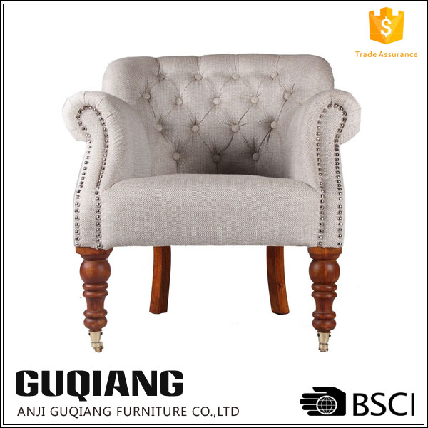 Royal Relaxing Couch Studded Rocking Sofa Chair In Modern Style,European Armchair