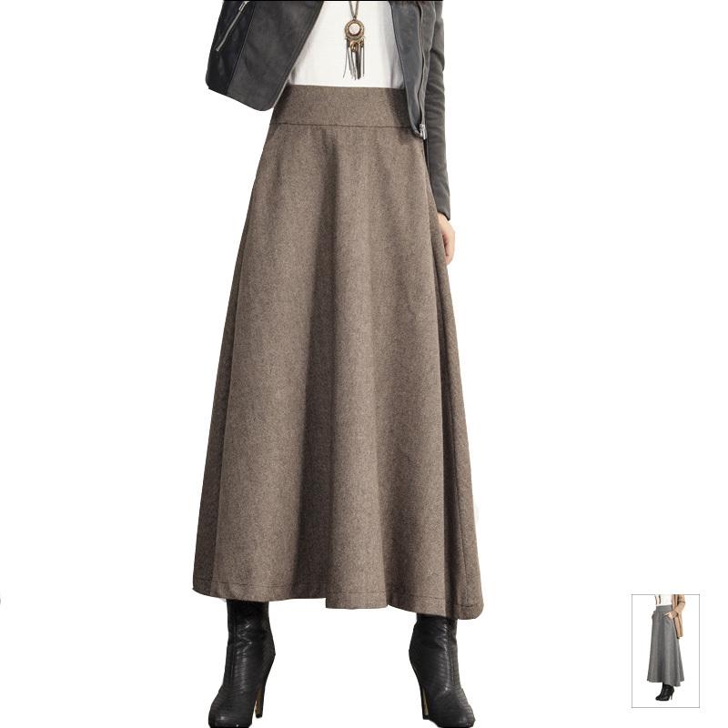 Winter Wool Skirt 32