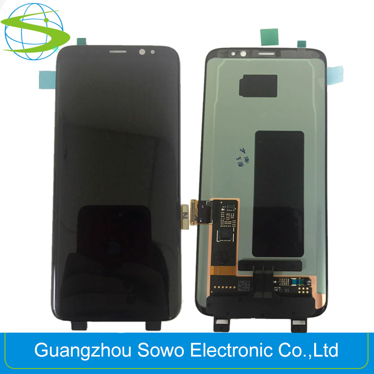 Mobile phone Touch LCD Screen for Samsung Galaxy S8 Crystal Display Replacement