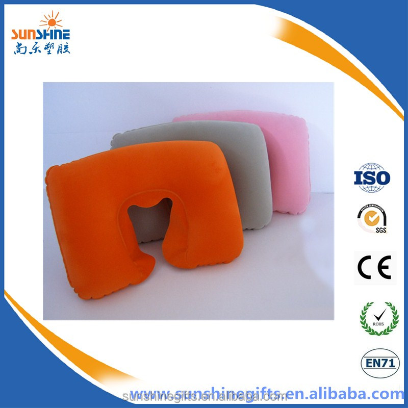 High Quality Folding Automatic Inflatable Travel Pillow for Camping picnic
