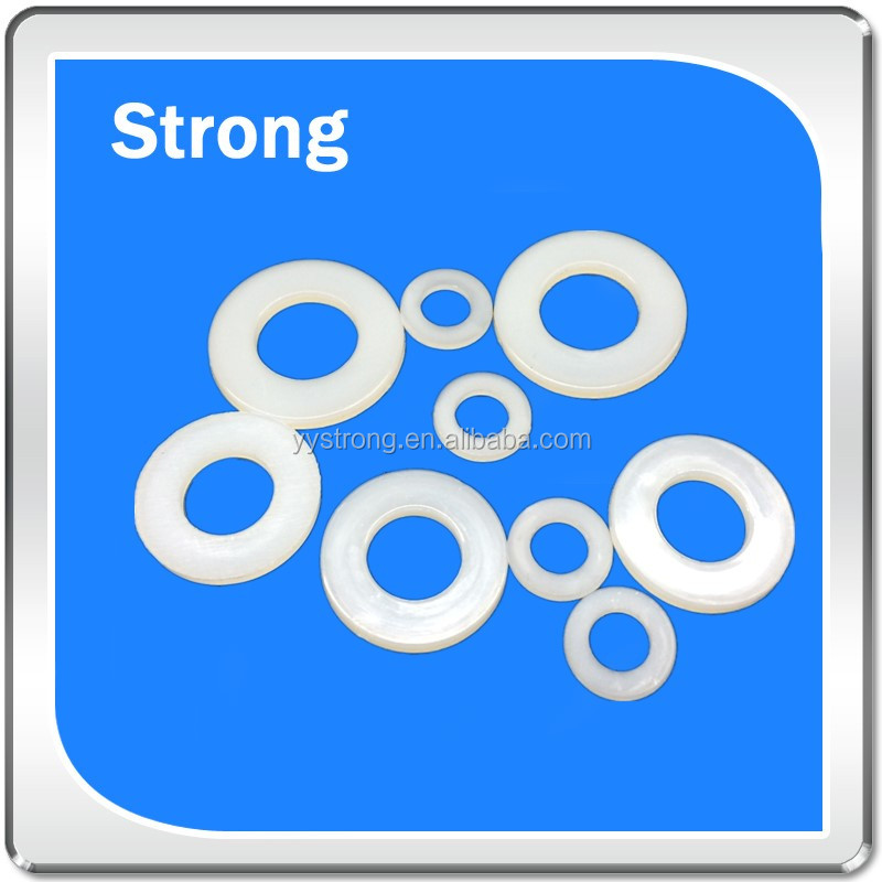 high quality cheap custom made nylon ABS plastic ring spacer