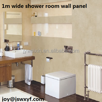 1m/1meter Wide Pvc Plastic Bathroom Wall Panel - Buy Wall Panel ...