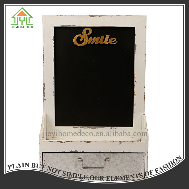 Beautiful Nice Design Useful Good Quality Smile Word Black Chalk Board Sign