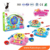 2017 Hot Sale Children Plastic Fish Toy Cartoon Funny Fishing Game For Gifts
