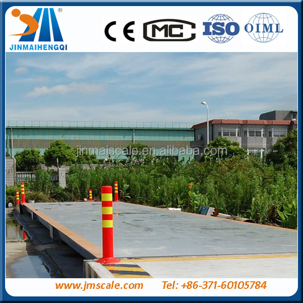 truck scale type bench floor platform weigh bridge