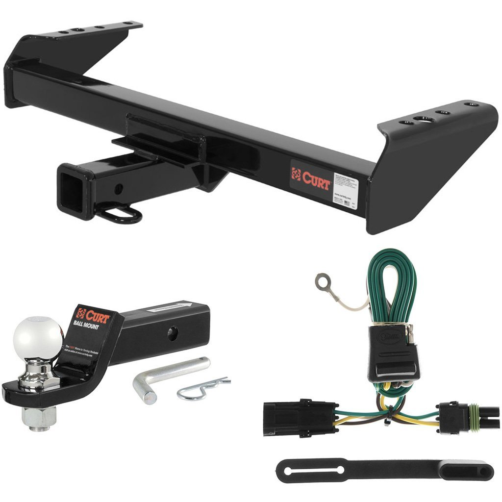 "CURT Class 3 Hitch Tow Package w/ 2-5/16"" Ball for Chevrolet Pickup, GMC Pickup"