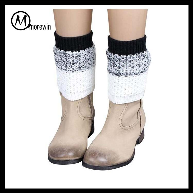 Morewin Band wool yarn warm and soft leg Warmers