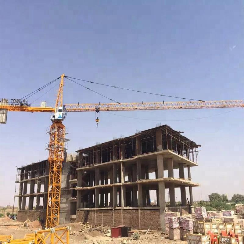 CE Certificate Luffing Jib Tower Crane QTZ40