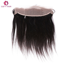 Unprocessed virgin lace frontals 13x6 indian hair straight hair bundles with frontal brazilian hair