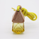 china supplier 5ml Hanging car air freshener perfume diffuser glass bottle with wooden cap