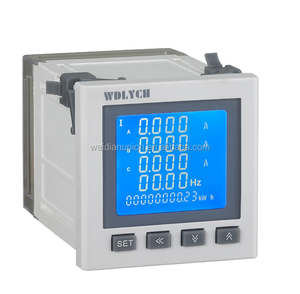Multi-function Harmonic Meters with LCD display