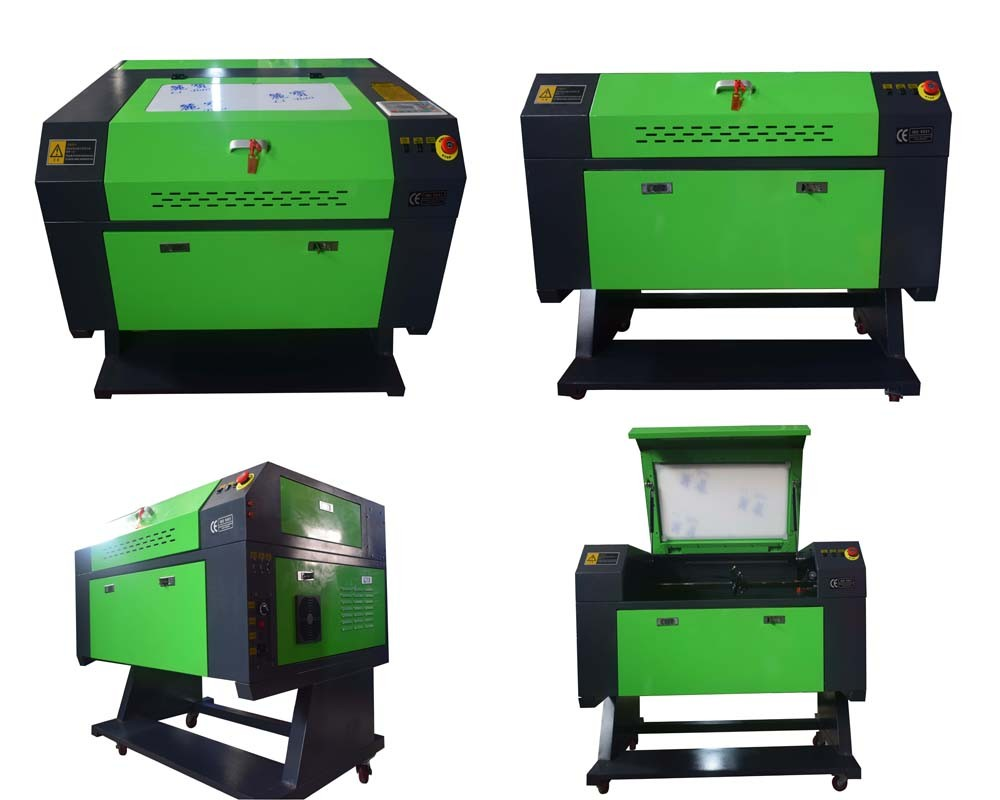 Co2 50w 4060 Mini Laser Engraving Cutting Machine Engraver