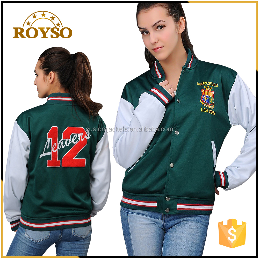 College Uniform Letterman Athletic European Down Jacket