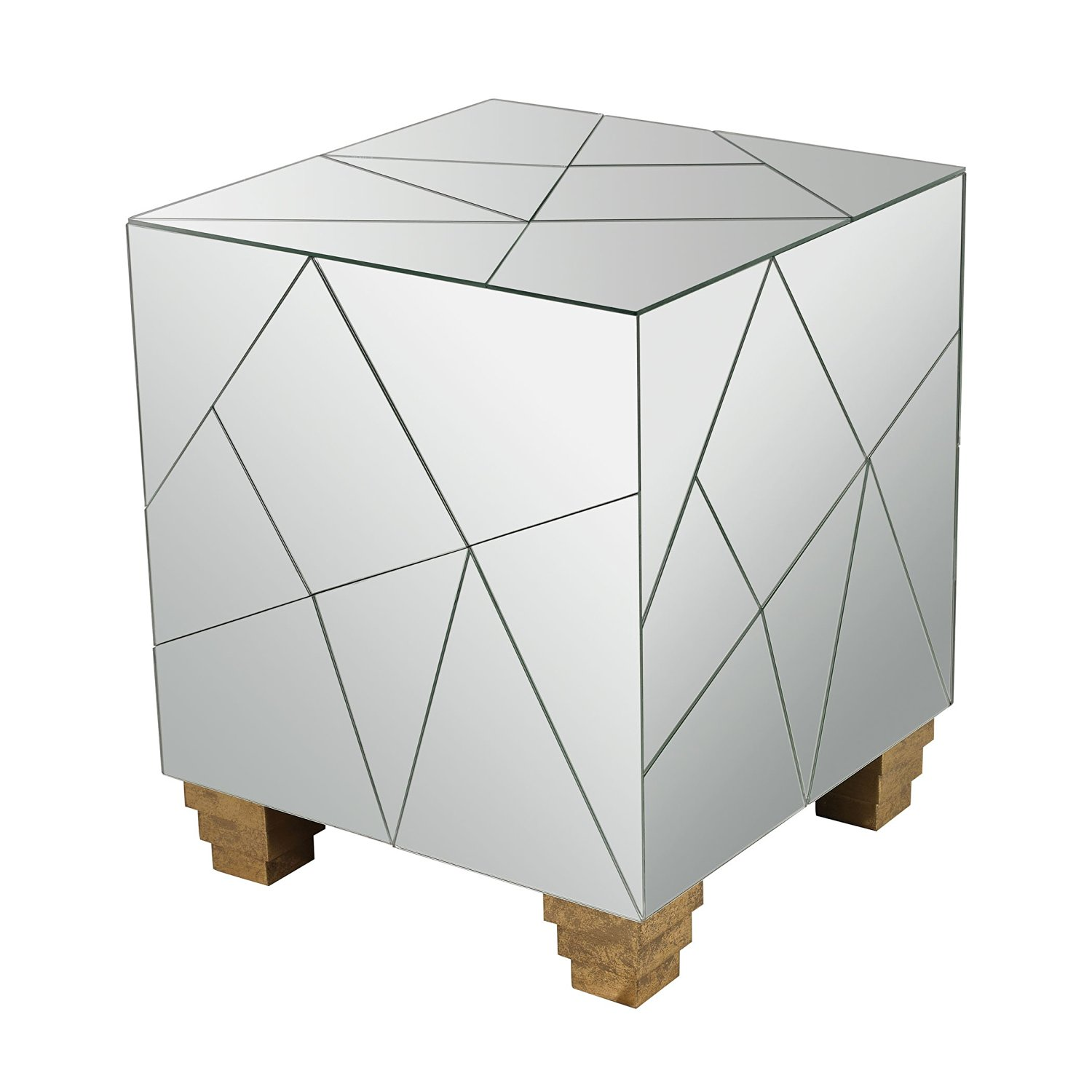 Cheap Mirrored Cube Side Table Find Mirrored Cube Side Table Deals - Mirrored cube end table