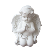 Europe style white color boy baby angel praying customized size